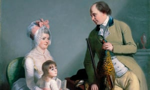 Mr and Mrs John Custance or Norwich and Their Daughter Frances', William Beechey.