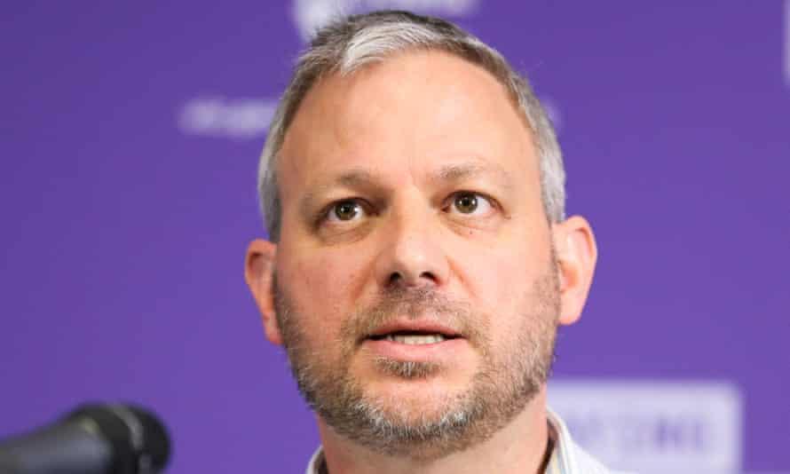 Victoria's chief health officer Prof Brett Sutton