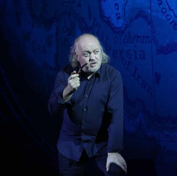 Marching to the beat of no one's drum but his own … Bill Bailey.