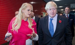 Boris Johnson and the US businesswoman Jennifer Arcuri. Her companies received funding and access while he was London mayor.