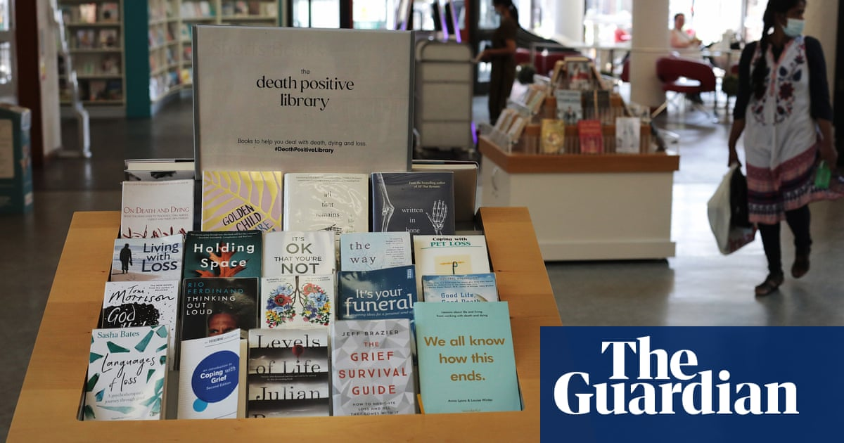 UK libraries become 'death positive' with books and art on dying