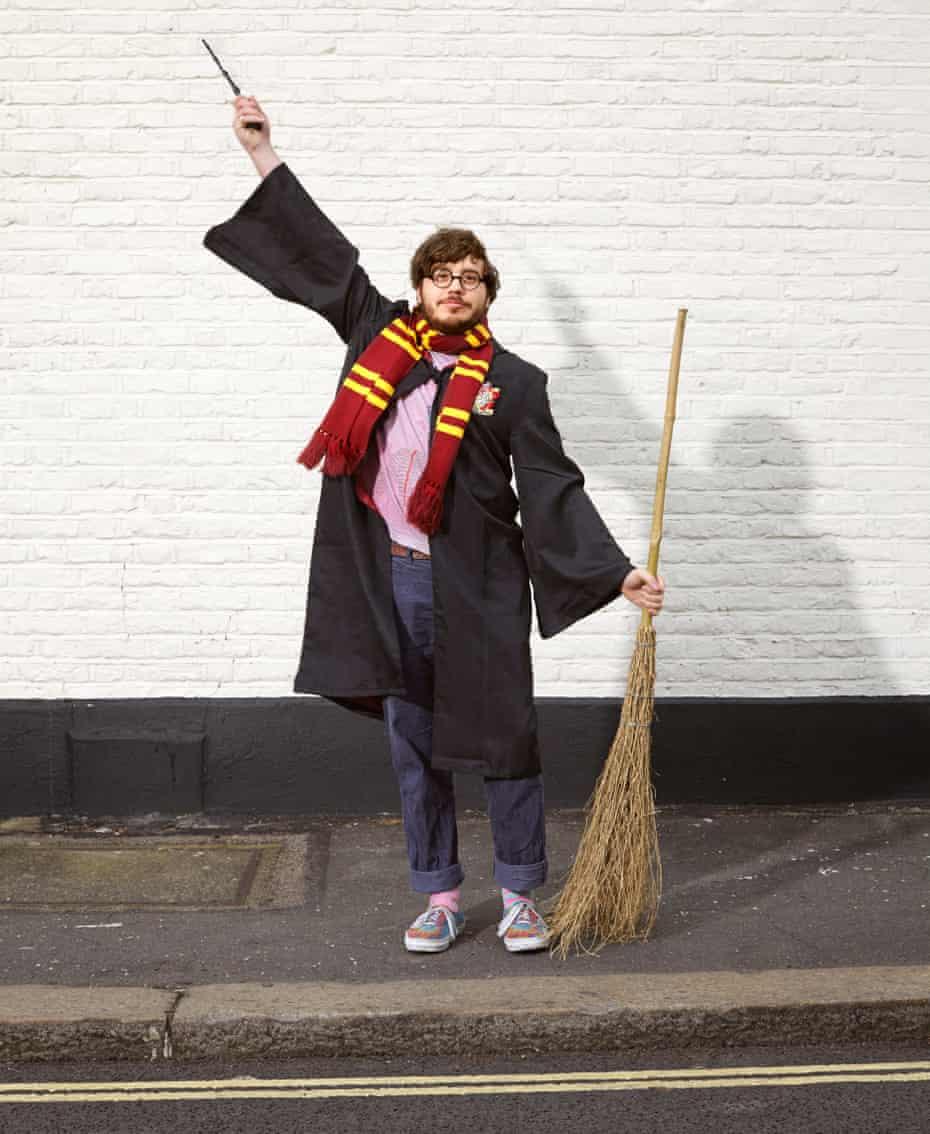 Benjamin Farquharson as Harry Potter, in Brixton.
