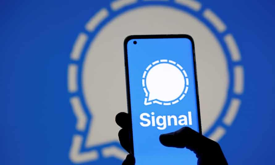 Users in China said Tuesday that they could not get the Signal app to connect without a VPN service.