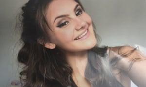 Chloe Gilbert, 15, had a  severe dairy allergy