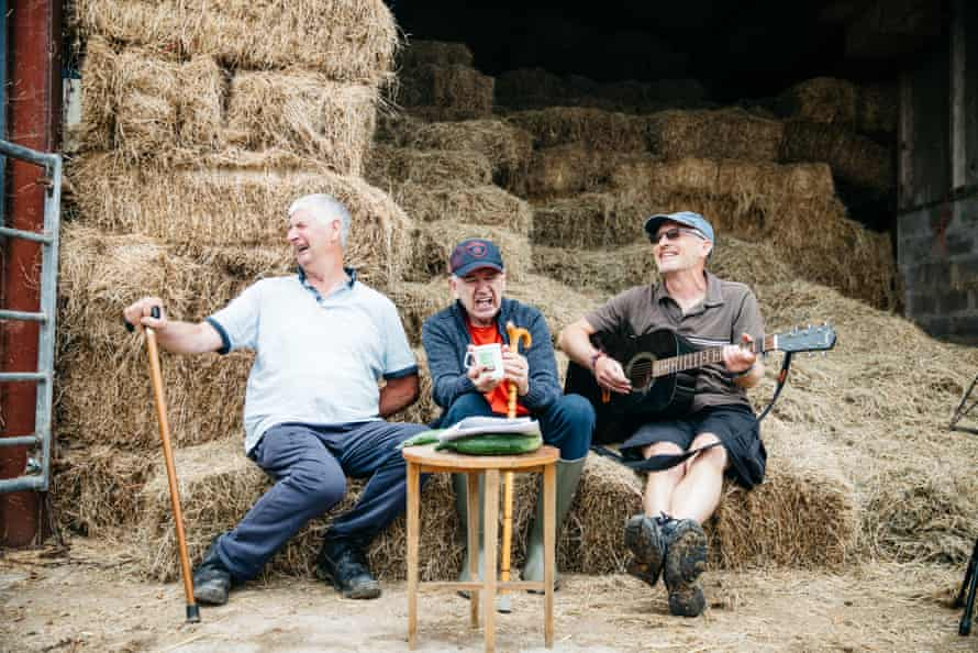 Ken Barnes, Andy Pollard and Nigel Spencer