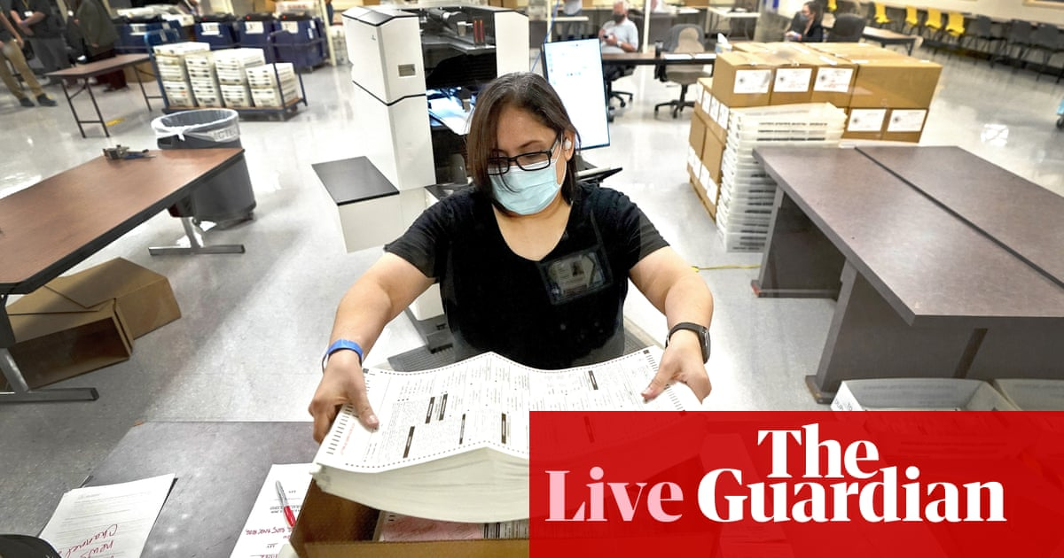 Controversial Arizona 'audit' shows Trump lost by even more votes – live updates