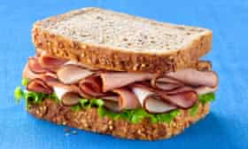 A full ham sandwich