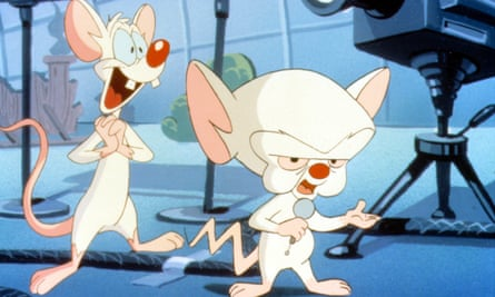 Plans for global domination … Pinky and the Brain, AKA Dominic Cummings.