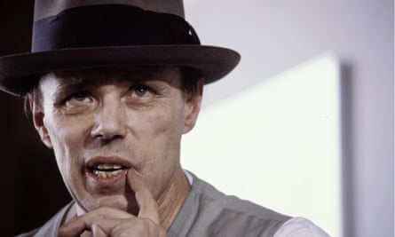 Joseph Beuys. Photograph: U Baumgarten via Getty Images