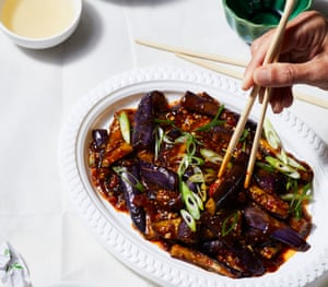 Sichuan Style Braised Eggplant