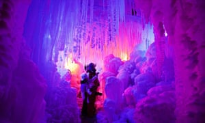 An ice palace