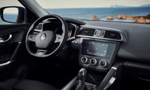 Inside story: the reworked interior of the new Renault Kadjar is a pleasant combination of soft-touch plastics and rubbers – it's more luxurious than it needs to be