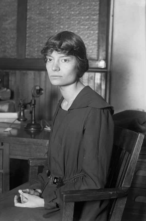 Dorothy Day, 1897-1980, the co-founder of the Catholic Worker Movement.