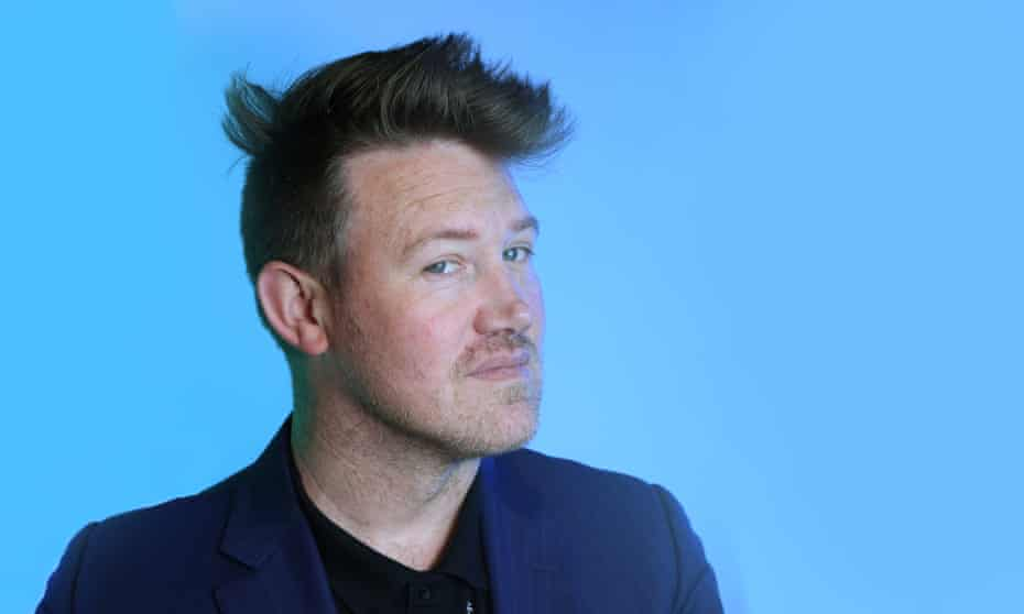 Entertainer Eddie Perfect.