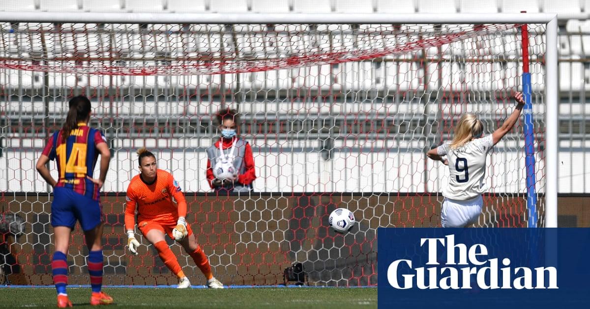 Be brave, Taylor tells Manchester City Women before Barcelona return leg