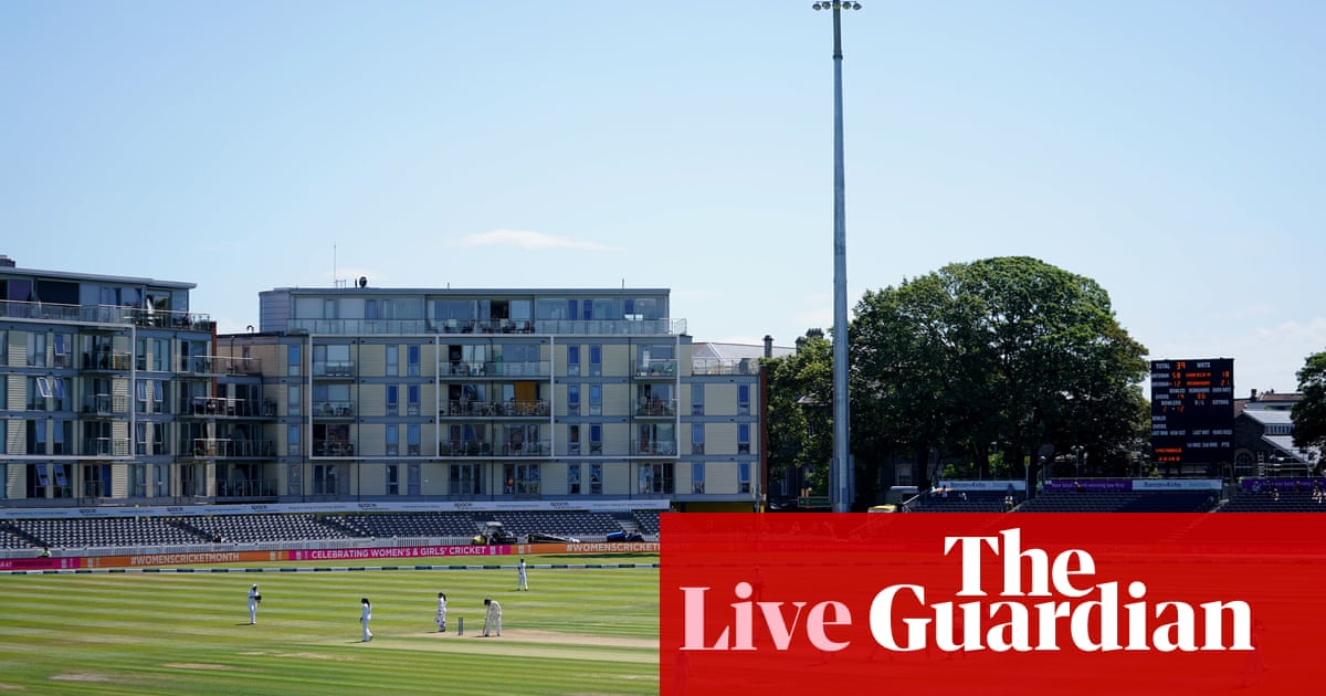 England v India: women's Test match, day two – live!