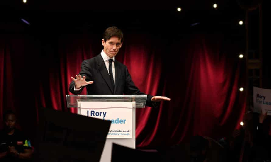 Rory Stewart, who has the backing of Ken Clarke, launches his bid to become leader of the Conservative party and prime minister.