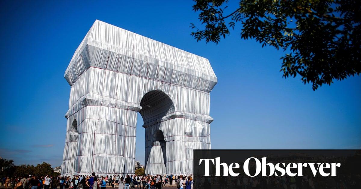 It's a wrap: Christo's final art project follows Paris triumph