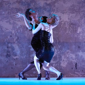 Fame dame … Thick & Tight bring The Princess and the Showgirl to their London international mime festival show