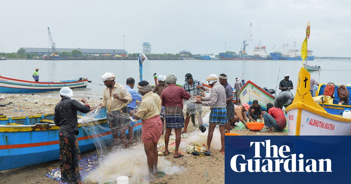 Net gains: how India trawlers' plastic catch is helping to rebuild roads
