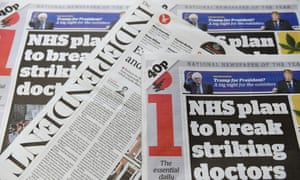 The Independent and i newspapers