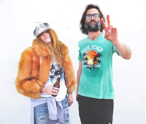 'We were super strung-out' … Jennifer Herrema and Neil Hagerty of Royal Trux just released new album White Stuff.