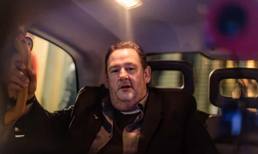 Johnny Vegas as Danny, a raconteur telling a ghost story in Closing Time.