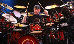 Neil Peart … All kitted out.