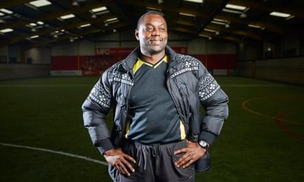 Community football manager John Yarro.