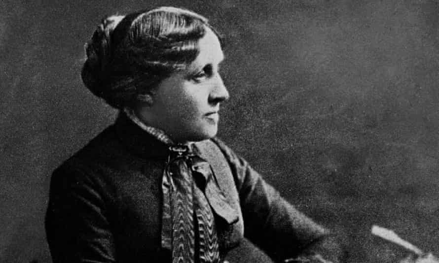 Louisa May Alcott, photographed in about 1860.