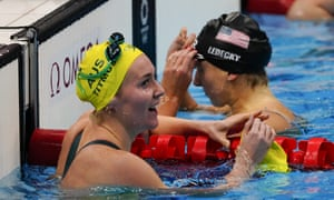 Ariarne Titmus wins the Women's 400m Freestyle Final Swimming