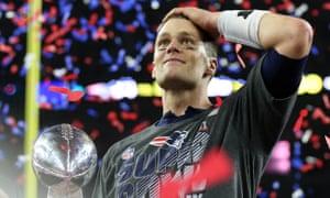 Tom Brady at the Superbowl