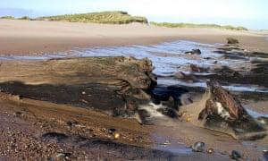 Druridge Bay in Northumberland
