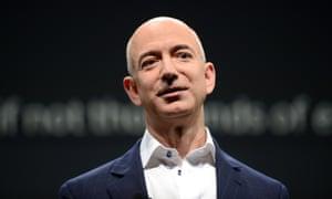The Amazon founder, Jeff Bezos