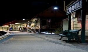 Katoomba railway station.