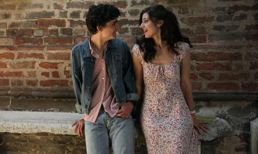 Timothee Chalamet and Esther Garrel in Call Me by Your Name.