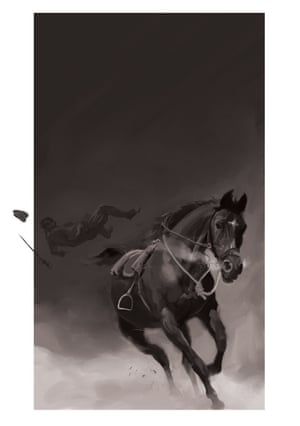 'Suddenly I found I had no rider' ... Nathan Aardvark (UK) illustration for competition to win commission to illustrate Folio Society edition of Michael Morpurgo's War Horse