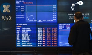 The benchmark S&P/ASX 200 and the All Ordinaries indices fell more than 2.4% in the first 20 minutes of trade on Monday.