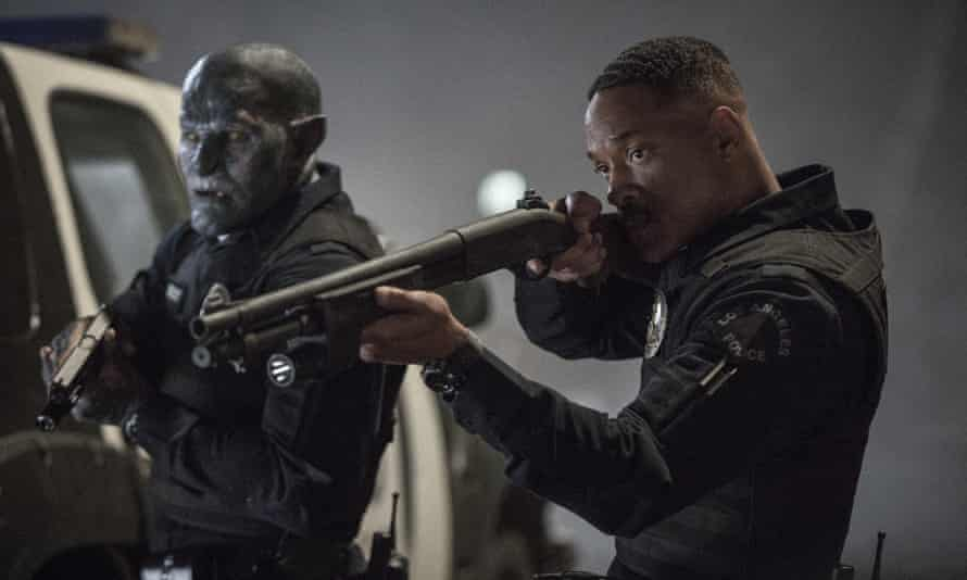 Joel Edgerton and Will Smith in Bright
