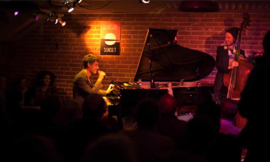 Rusconi performing at Sunset Sunside jazz club, Paris