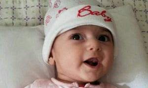 Fatemeh Reshad, an infant from Iran with a life-threatening heart condition