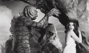 Adams as Kay Lawrence, the only woman in a group of geologists in the Amazon, in Creature from the Black Lagoon.