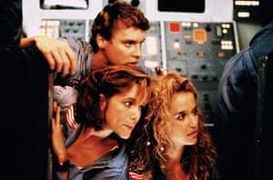 Space Camp - 1986Editorial use only. No book cover usage. Mandatory Credit: Photo by Abc/Kobal/REX/Shutterstock (5876050b) Lea Thompson, Tate Donovan, Kelly Preston Space Camp - 1986 Director: Harry Winer ABC Pictures USA Scene Still Action/Adventure Spacecamp