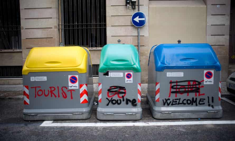 A clash of sentiments in Barcelona.