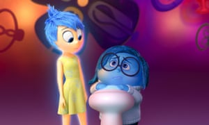 Full of fun: Poehler voiced the character Joy in Inside Out.