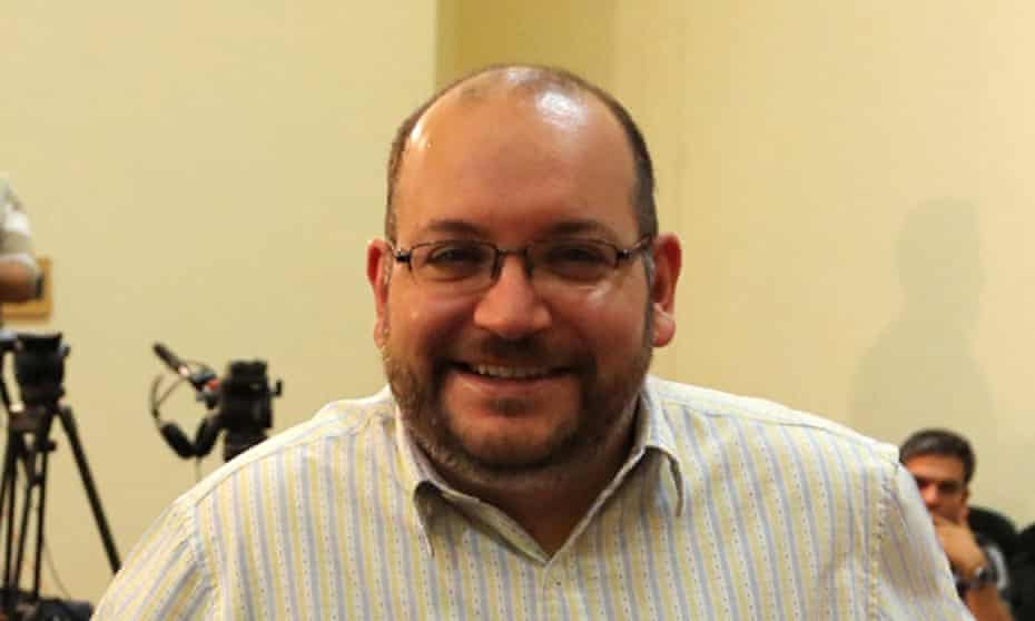 Washington Post correspondent Jason Rezaian covering a press conference at Iran's Foreign Ministry in Tehran in 2013