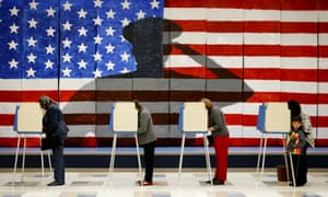 Polling Day In America As It Happened US News The Guardian - Us election 2016 map the guardian