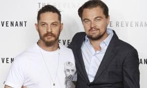 Leonardo DiCaprio attends a Bafta screening of The Revenant.