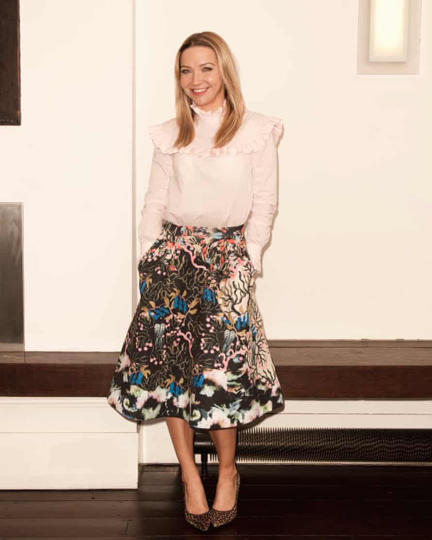Jess Cartner-Morley in a pie crust blouse
