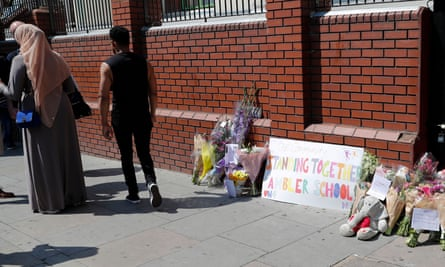finsbury park attack flowers